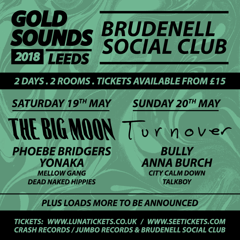 The Big Moon, Turnover, Phoebe Bridgers, Bully and more to play Gold Sounds Festival 2018