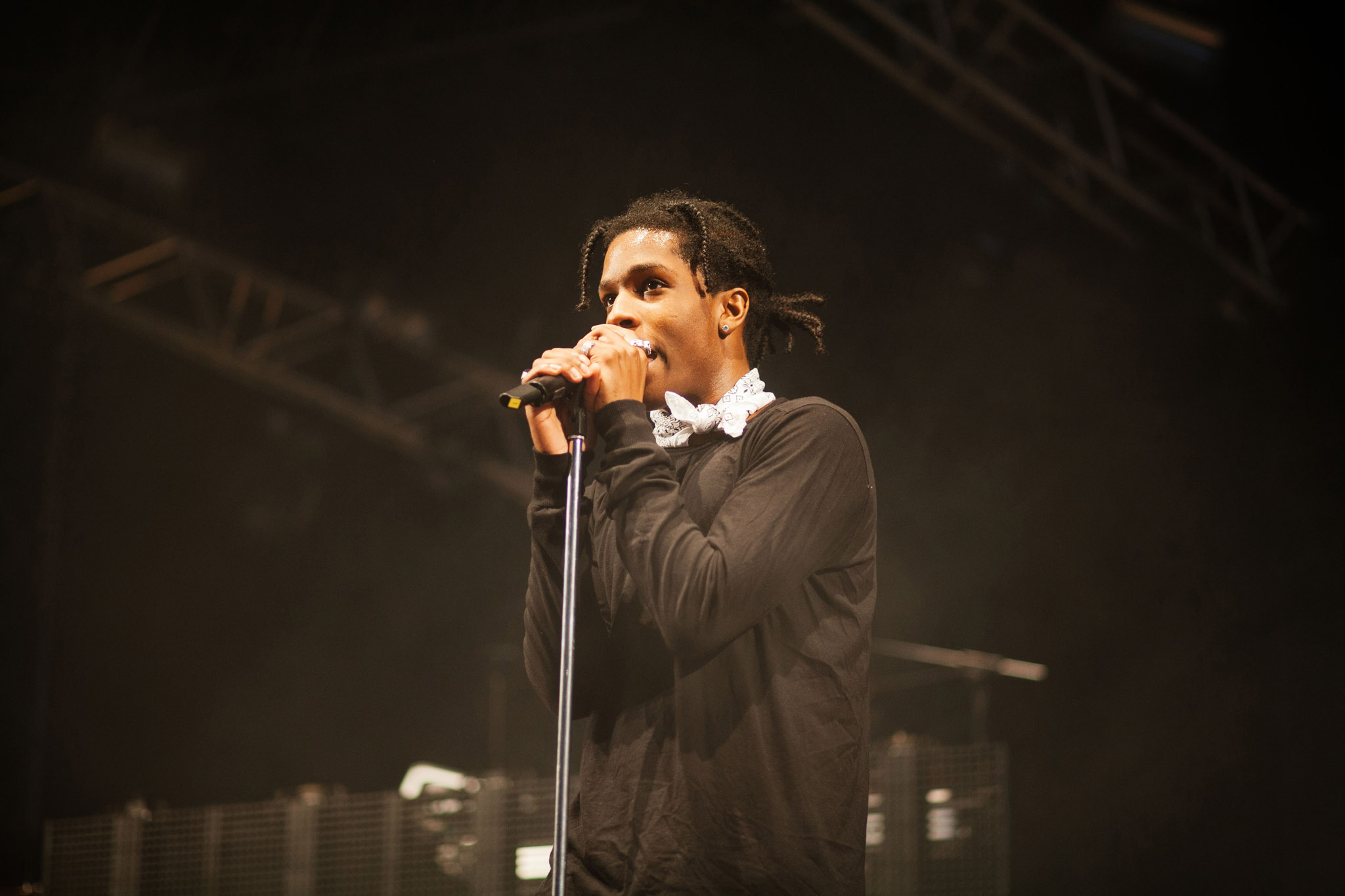 Footage emerges of A$AP Rocky getting into a fight on London's Brick Lane
