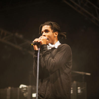 A$AP Rocky performs two tracks on The Late Late Show With James Corden