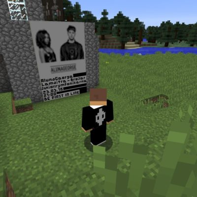 AlunaGeorge did a show inside Minecraft - we're living in The Future, people