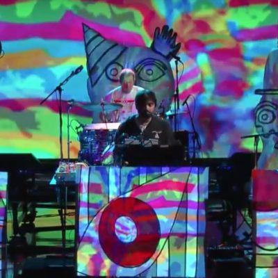 Animal Collective bring 'FloriDada' to Colbert