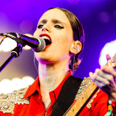 Watch Anna Calvi perform 'Eliza' at Glastonbury
