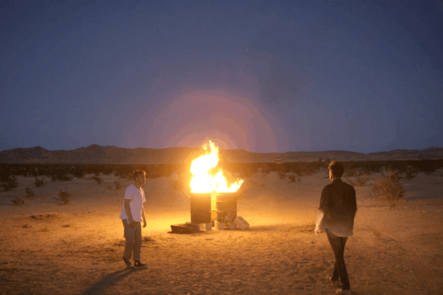 Aquilo head to the desert in their 'Who Are You' video
