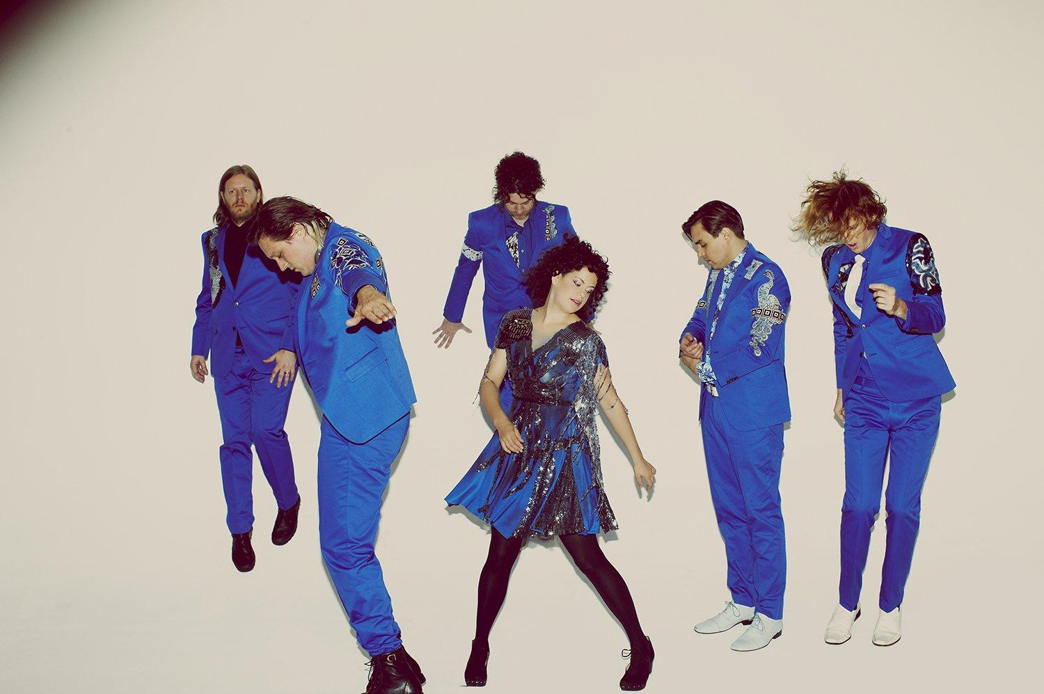 Arcade Fire look to be releasing new single 'Everything Now' this week
