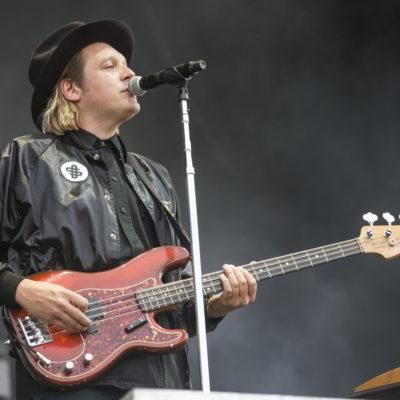 Arcade Fire's Win Butler performs his own song at karaoke