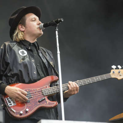 Arcade Fire's ​Win Butler performs his own song at karaoke