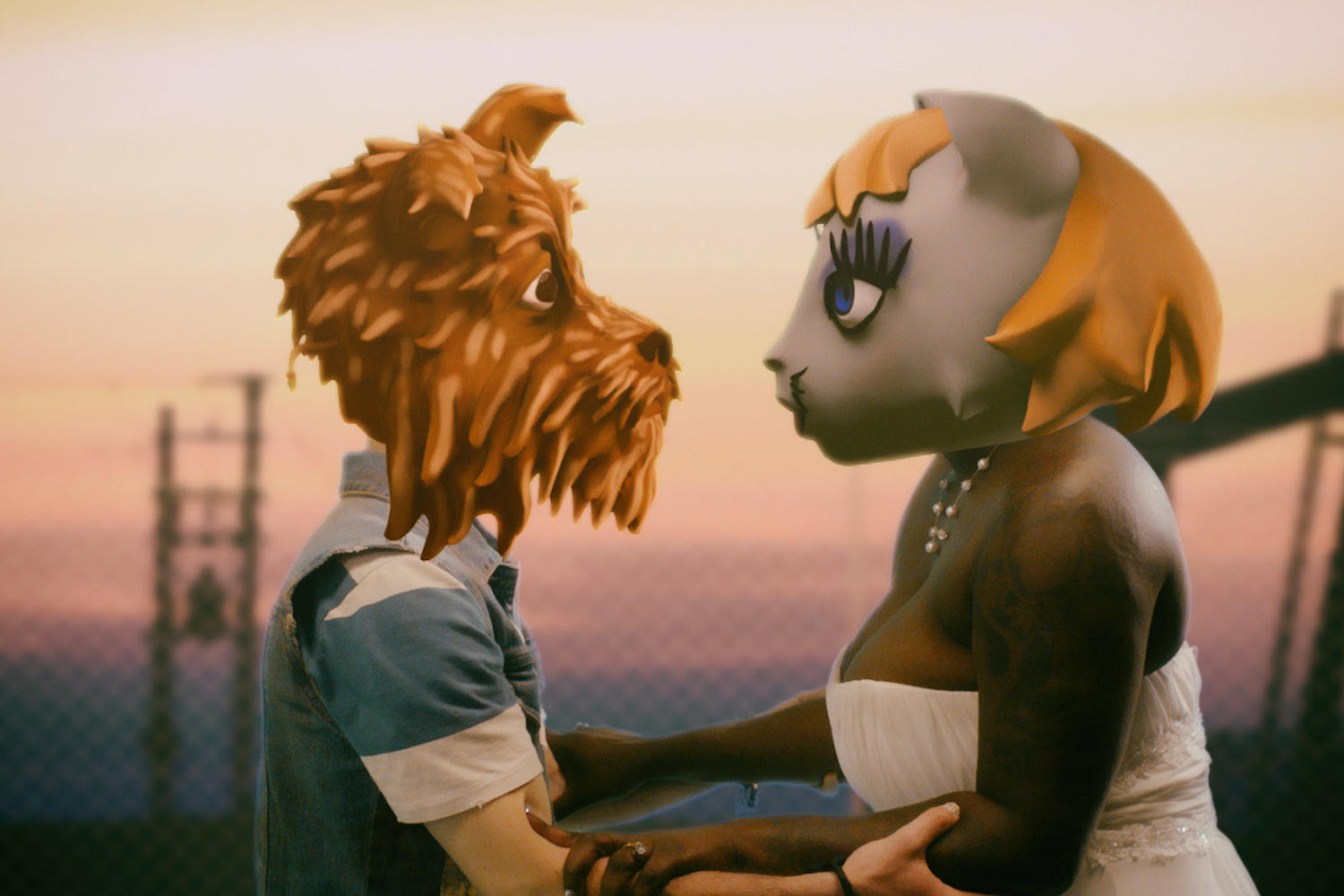 A wedding goes awry in Arcade Fire's bizarre new 'Chemistry' video