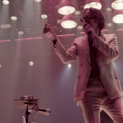 Jarvis Cocker joins Arcade Fire at Wembley for '…Running The World'