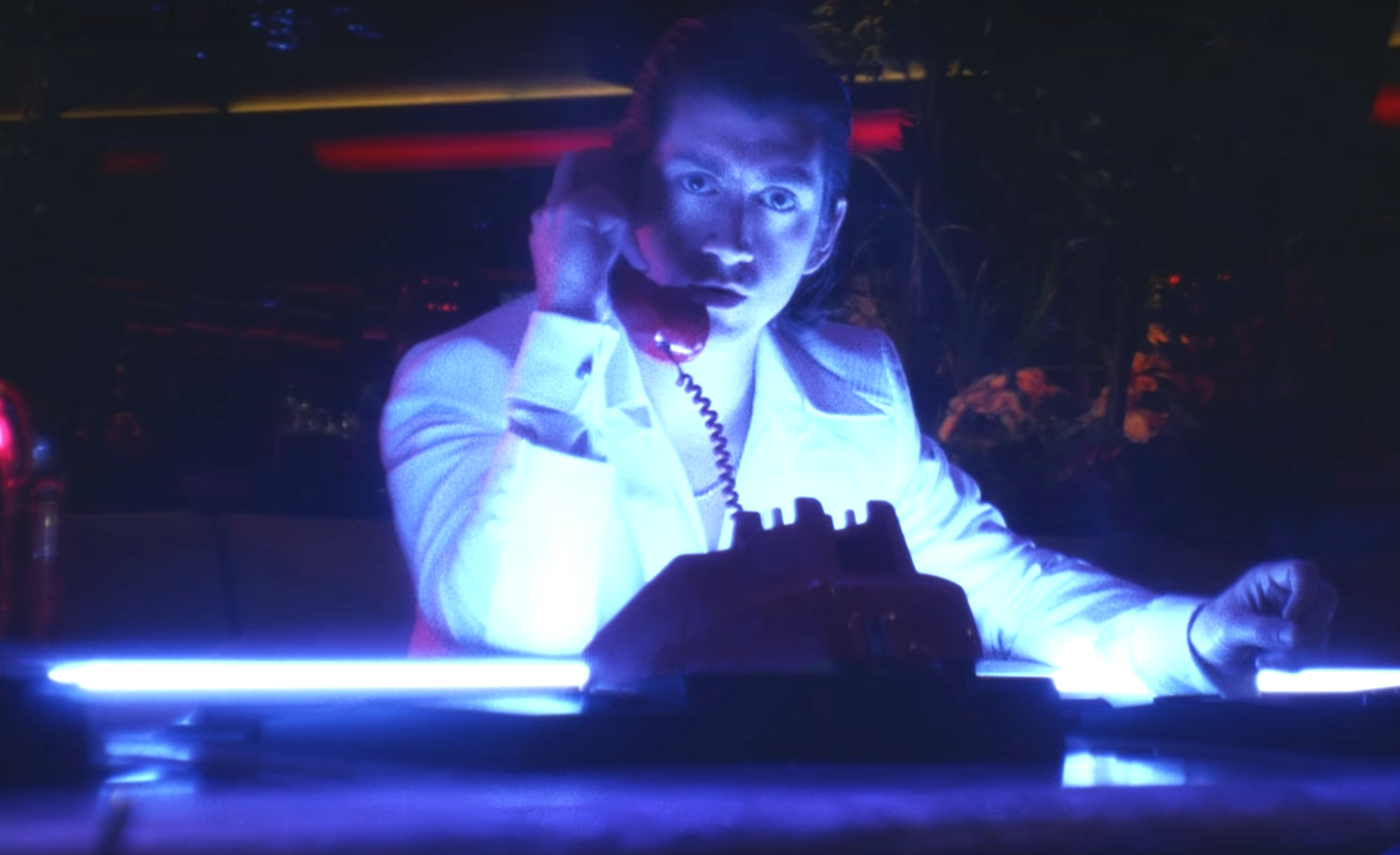 Watch the video for Arctic Monkeys' 'Tranquility Base Hotel & Casino'