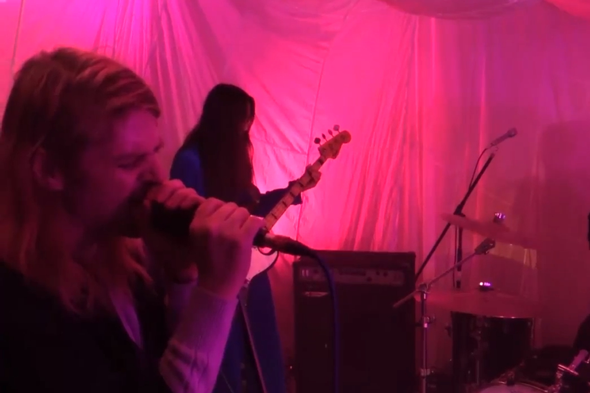 Watch Ariel Pink play live in the Boiler Room right now