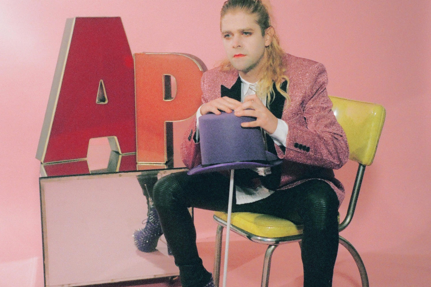 Ariel Pink hangs out in toilets for the 'I Need a Minute' video