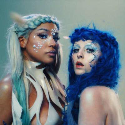 Ashnikko teams up with Princess Nokia for 'Slumber Party' video