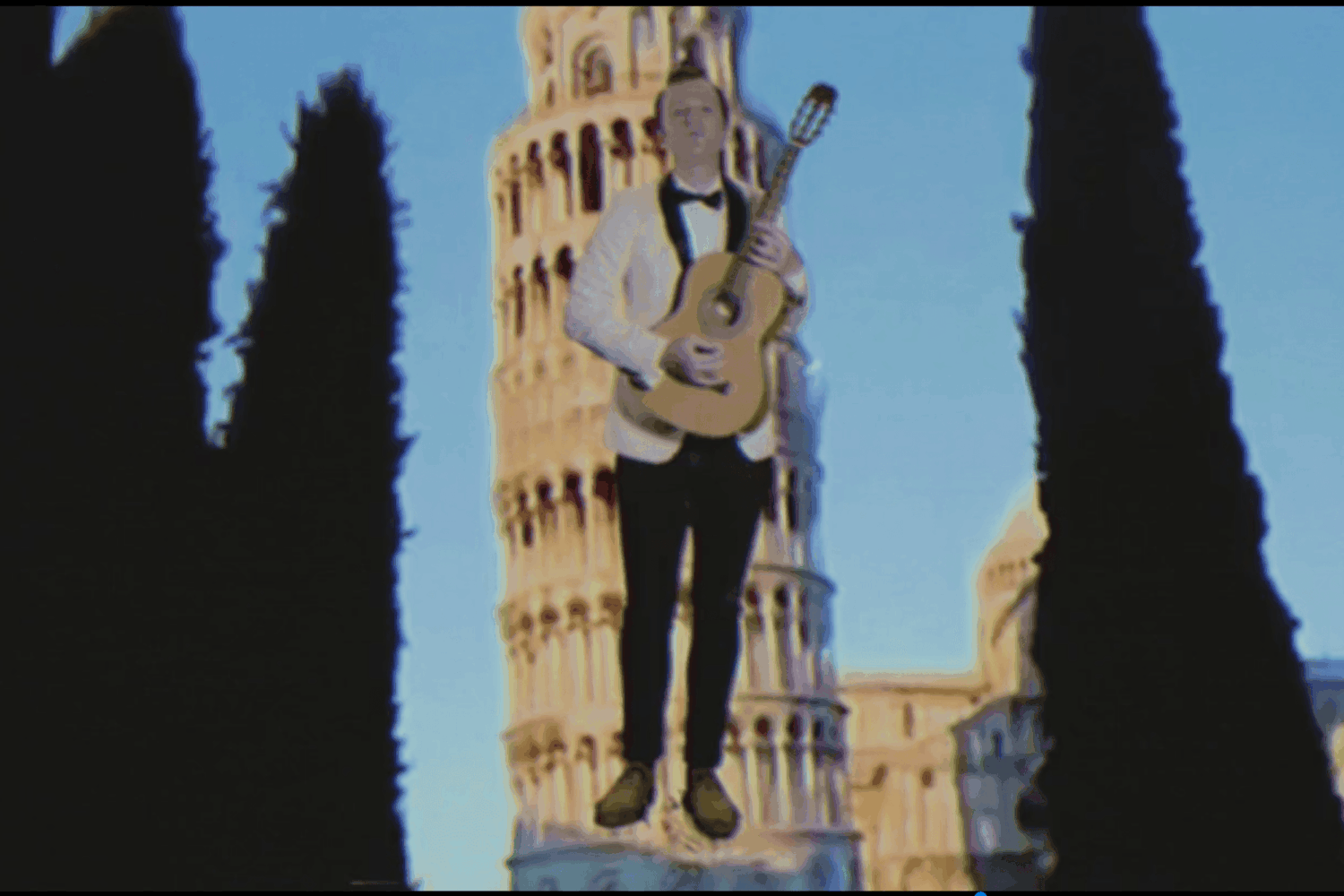 BAIO goes green screen-tastic in his new 'Man Of The World' video