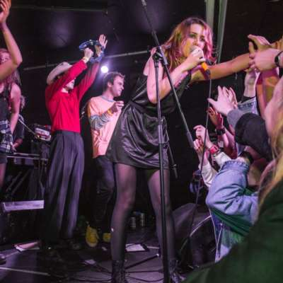 Watch footage from Wolf Alice, Black Honey, Peace and co's Bands 4 Refugees gig