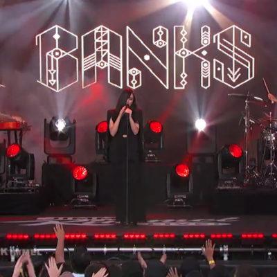 Watch BANKS make her television debut on Kimmel
