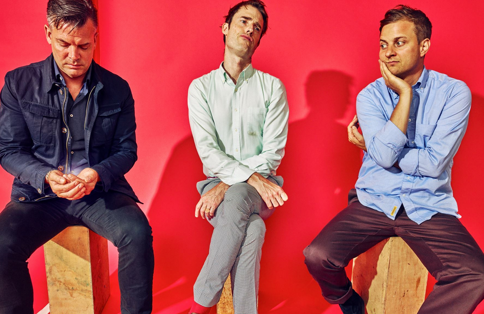 Battles unveil technicolour 'Dot Net' video