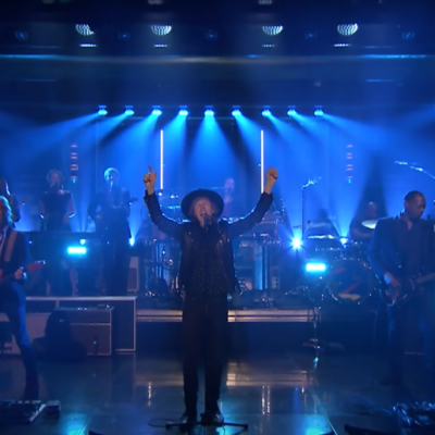 Watch Beck play 'Up All Night' on Fallon
