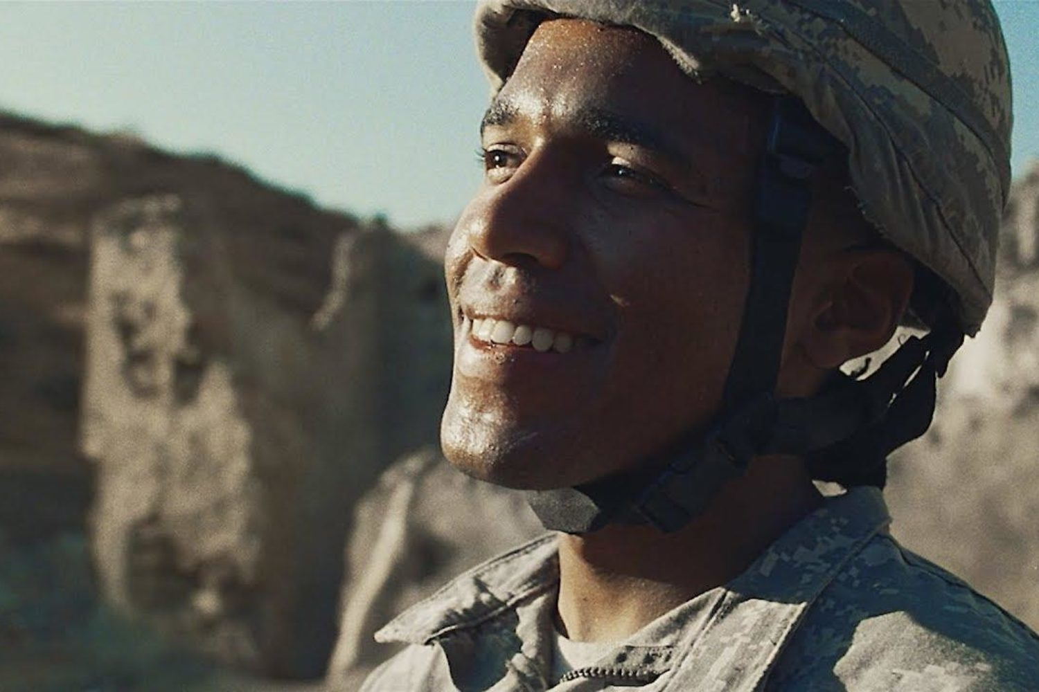 Benjamin Booker undergoes military training in the video for 'Believe'