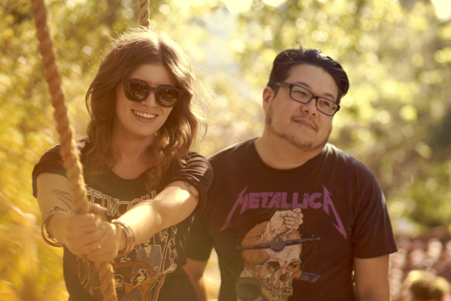 Best Coast play 'The Bandmate Game' on James Corden's Late Late Show