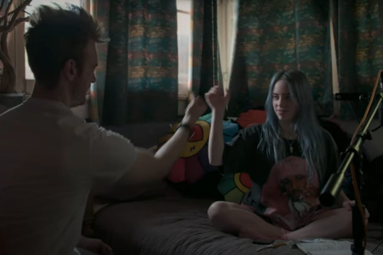Billie Eilish unveils 'The World's A Little Blurry' trailer