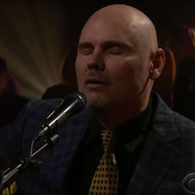 Watch William Patrick Corgan bring 'The Spaniards' to Corden