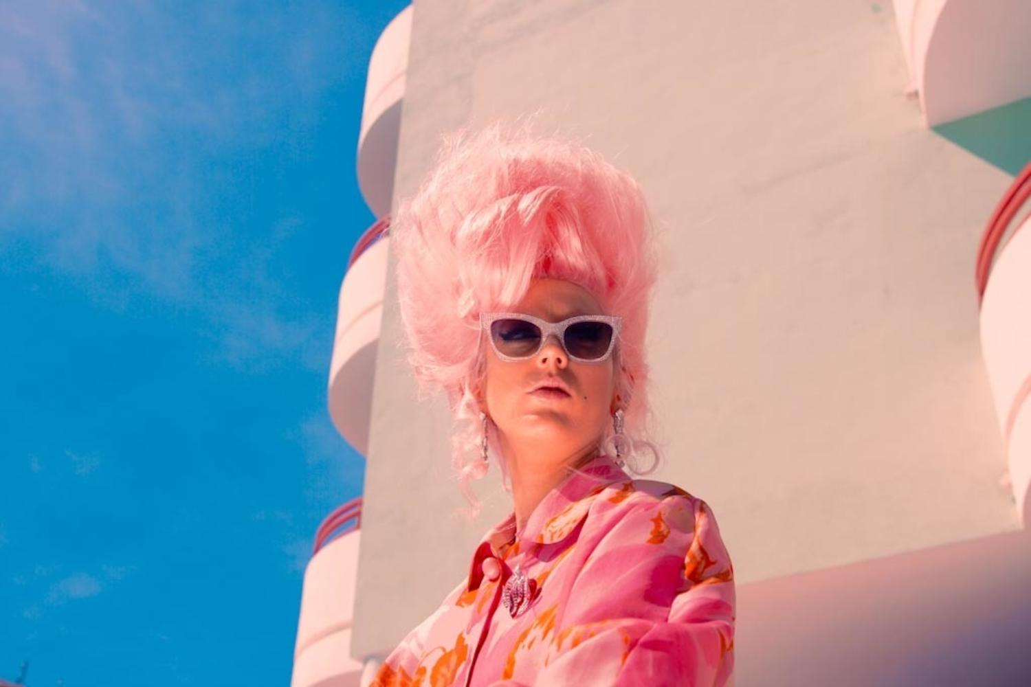 """""""We turned up with a wig in a flight case"""" - Black Honey talk their new 'I Don't Ever Wanna Love' video"""