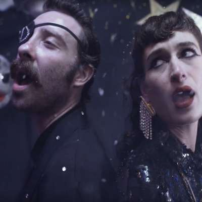 Black Lips head to the ball in the video for 'Crystal Night'