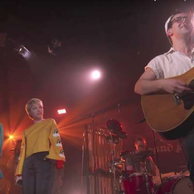 Lorde and Carly Rae Jepsen joined Bleachers on MTV Unplugged