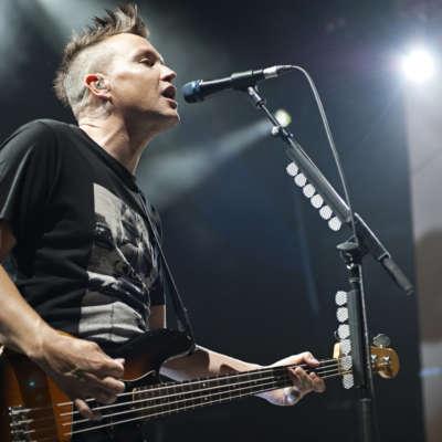 Blink-182 make live debut with Alkaline Trio's Matt Skiba