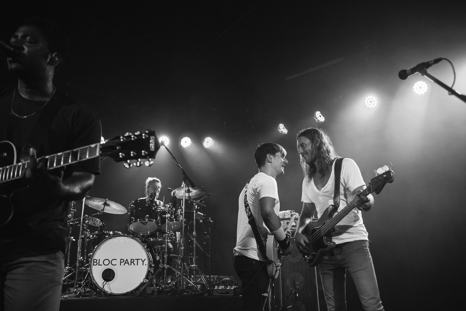 Bloc Party make live return, debut new songs