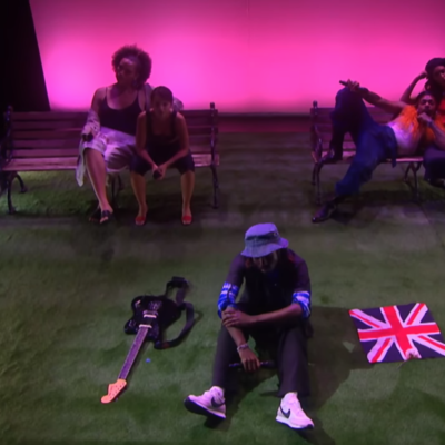 Blood Orange plays new songs 'Something To Do' and 'Dark Handsome' on telly