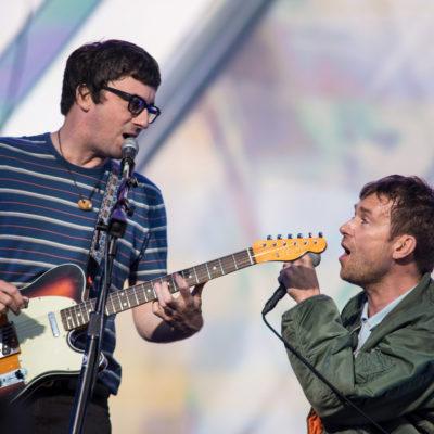 Watch Gorillaz play Blur's 'Song 2' with Graham Coxon