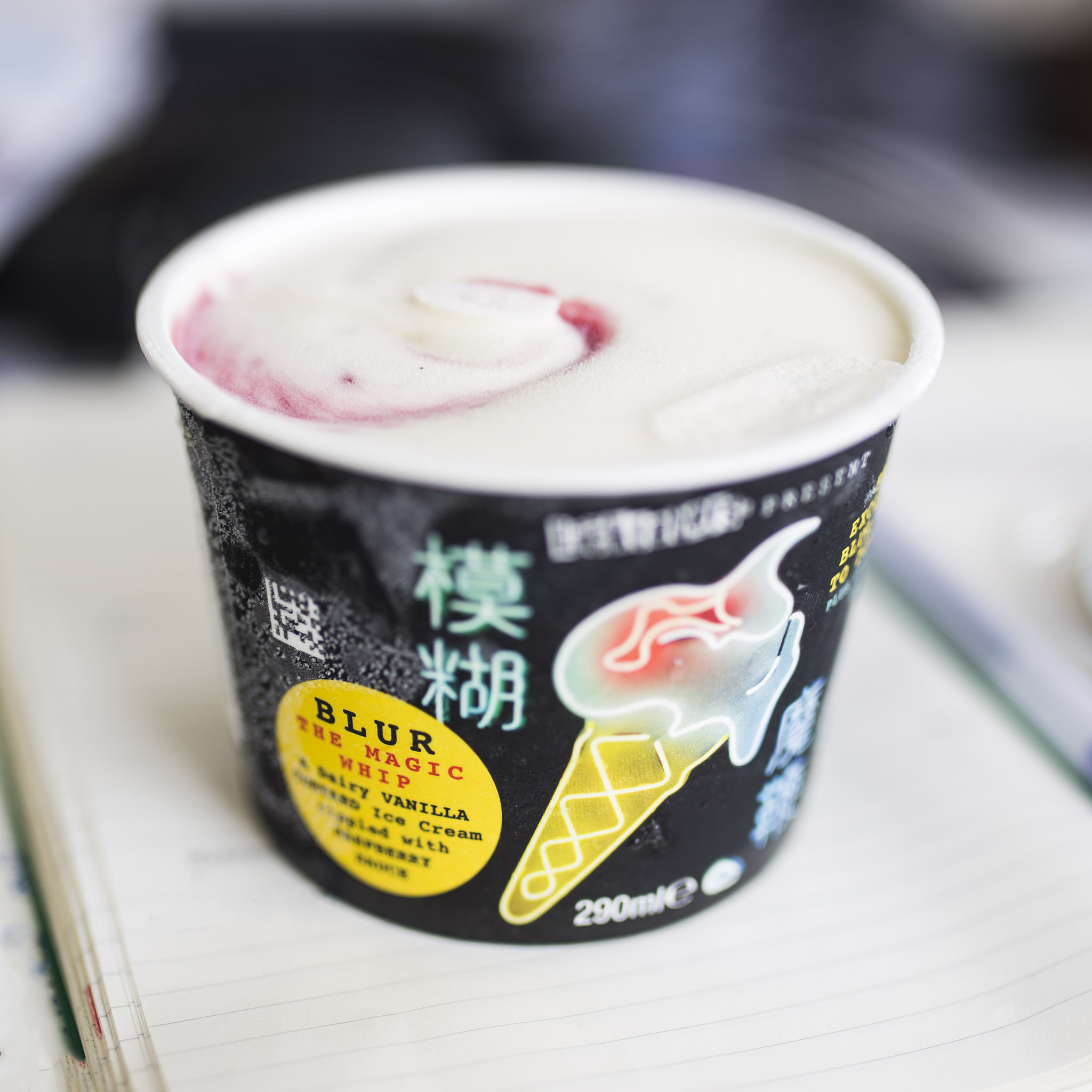 Blur dish out own ice cream in UK supermarkets