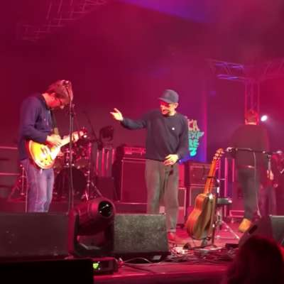 A surprise Blur reunion happened at the weekend…