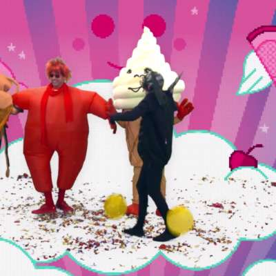 Watch Blur dress up as ice creams in 'Ong Ong' video