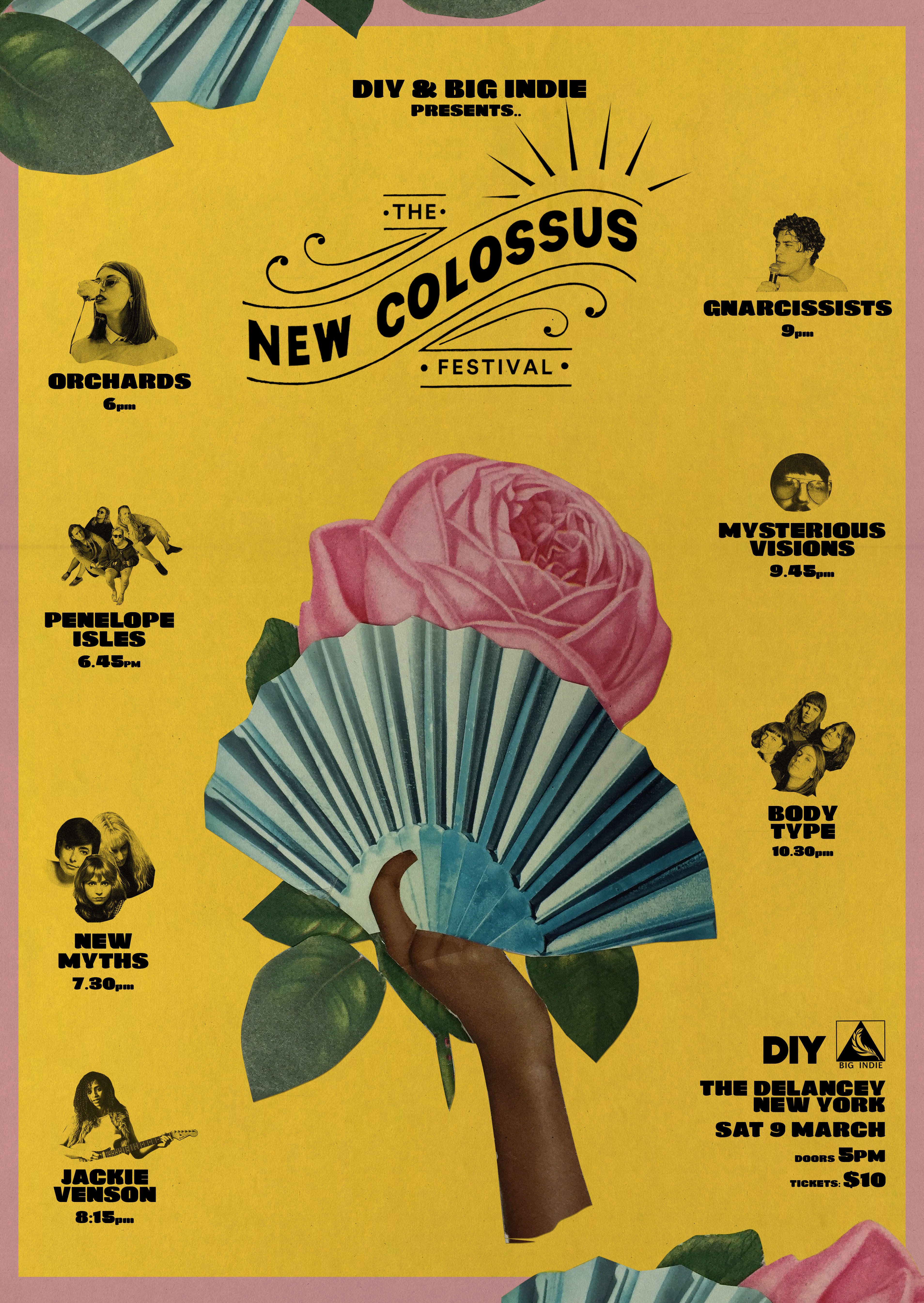Whenyoung, Body Type, Penelope Isles and more to play the DIY/ Big Indie stage at New York's New Colossus next month