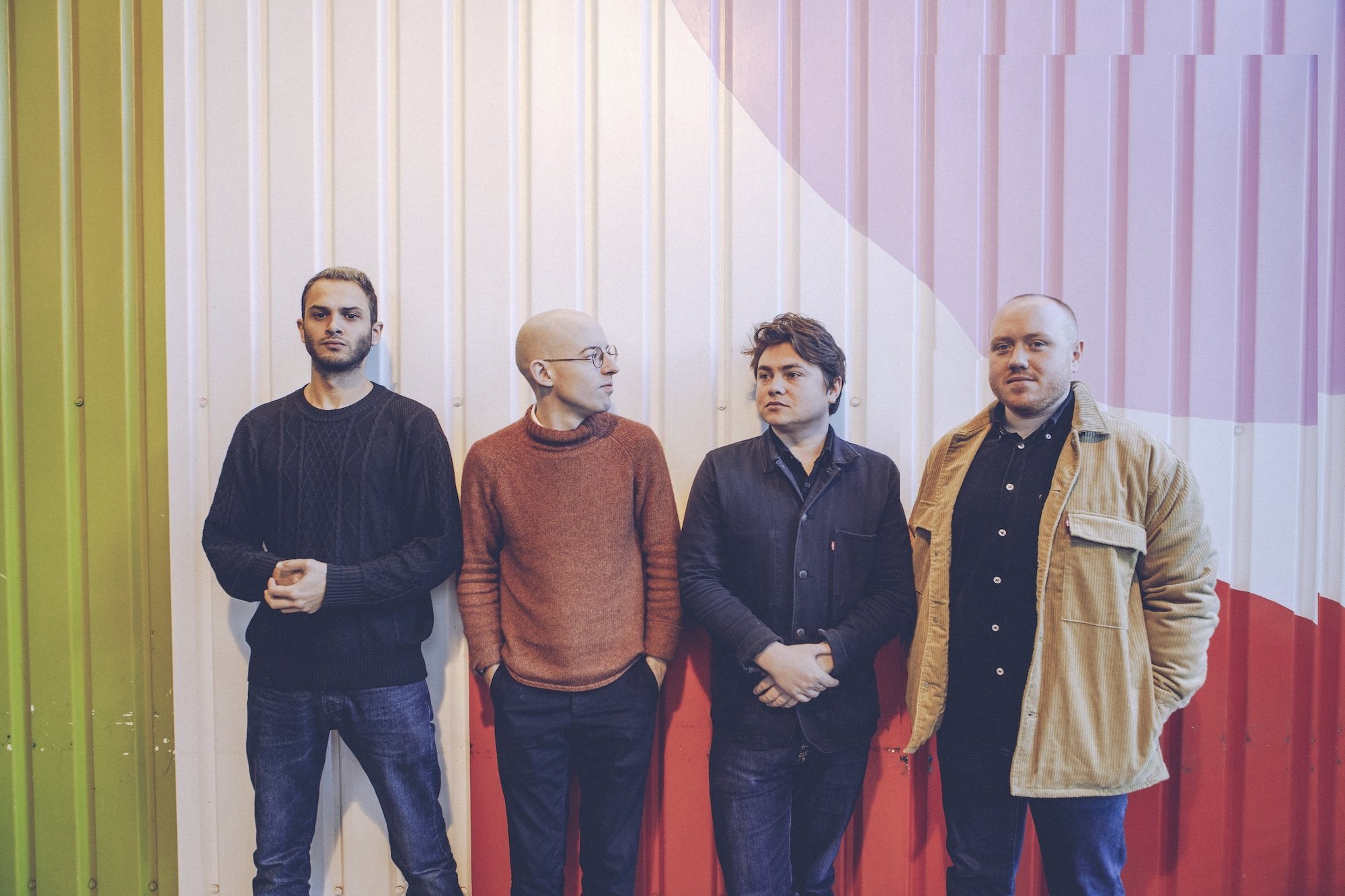 Bombay Bicycle Club release acoustic recording of 'Racing Stripes'