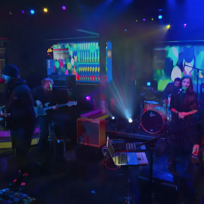 Bon Iver's Justin Vernon and The National's Aaron Dessner make tv debut as Big Red Machine