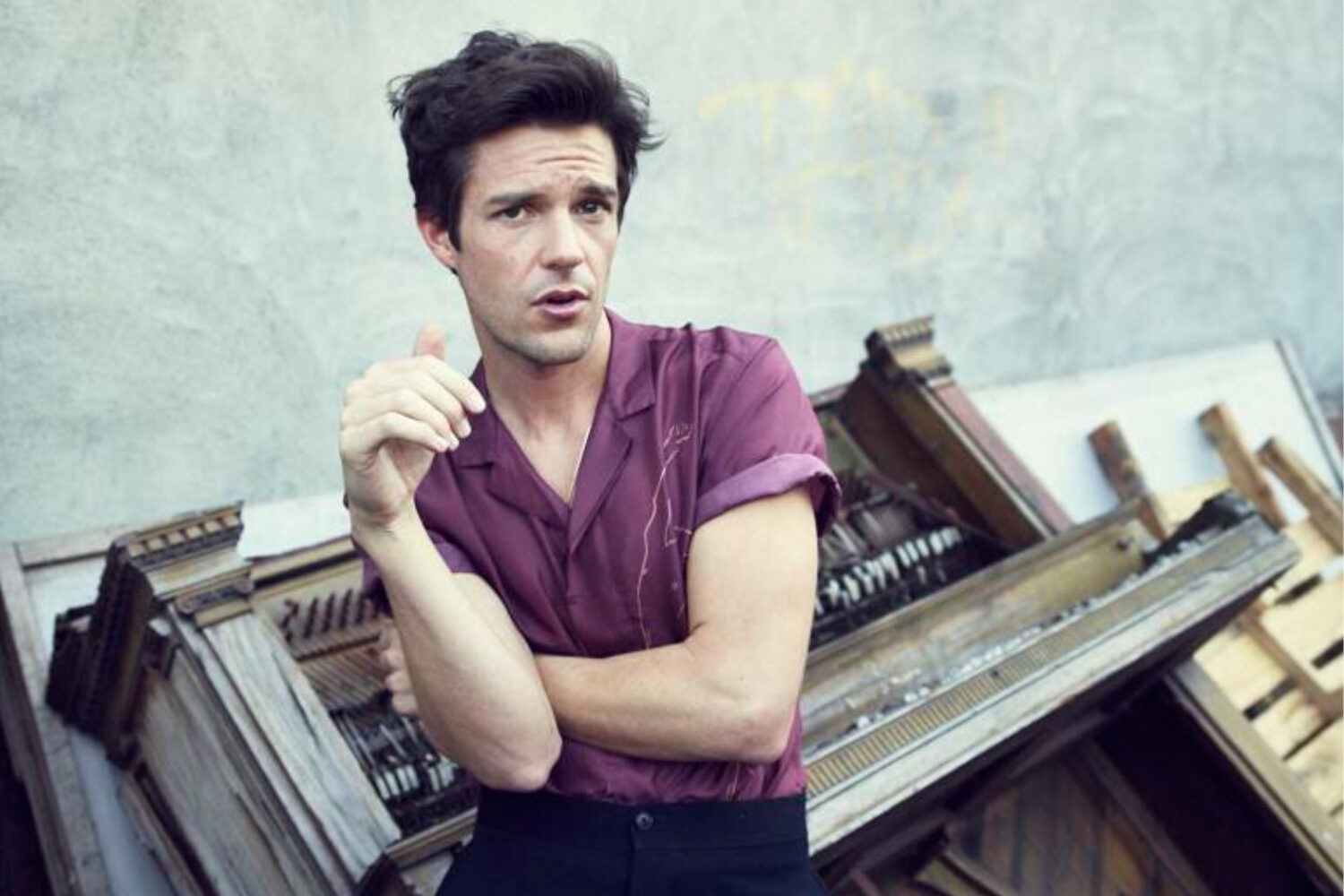 Watch Brandon Flowers play new song 'Come Out With Me' live