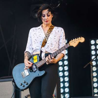 The Distillers share first new song in 15 years - hear 'Man vs Magnet'