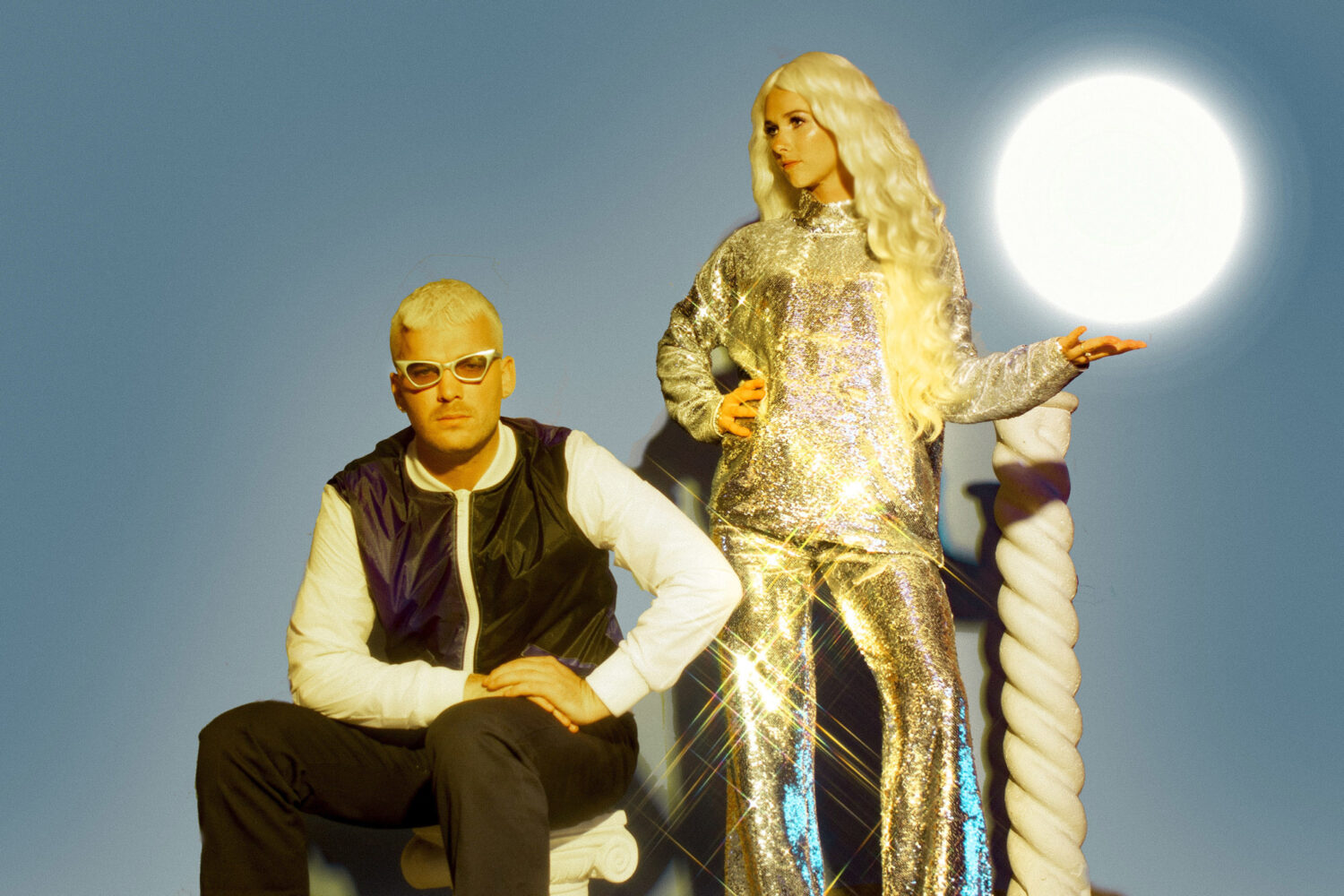 Broods air new track 'Falling Apart'
