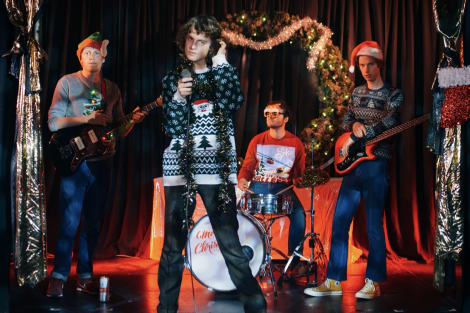 Buzzard Buzzard Buzzard release 'Christmas Is Coming (We All Know The Score)'