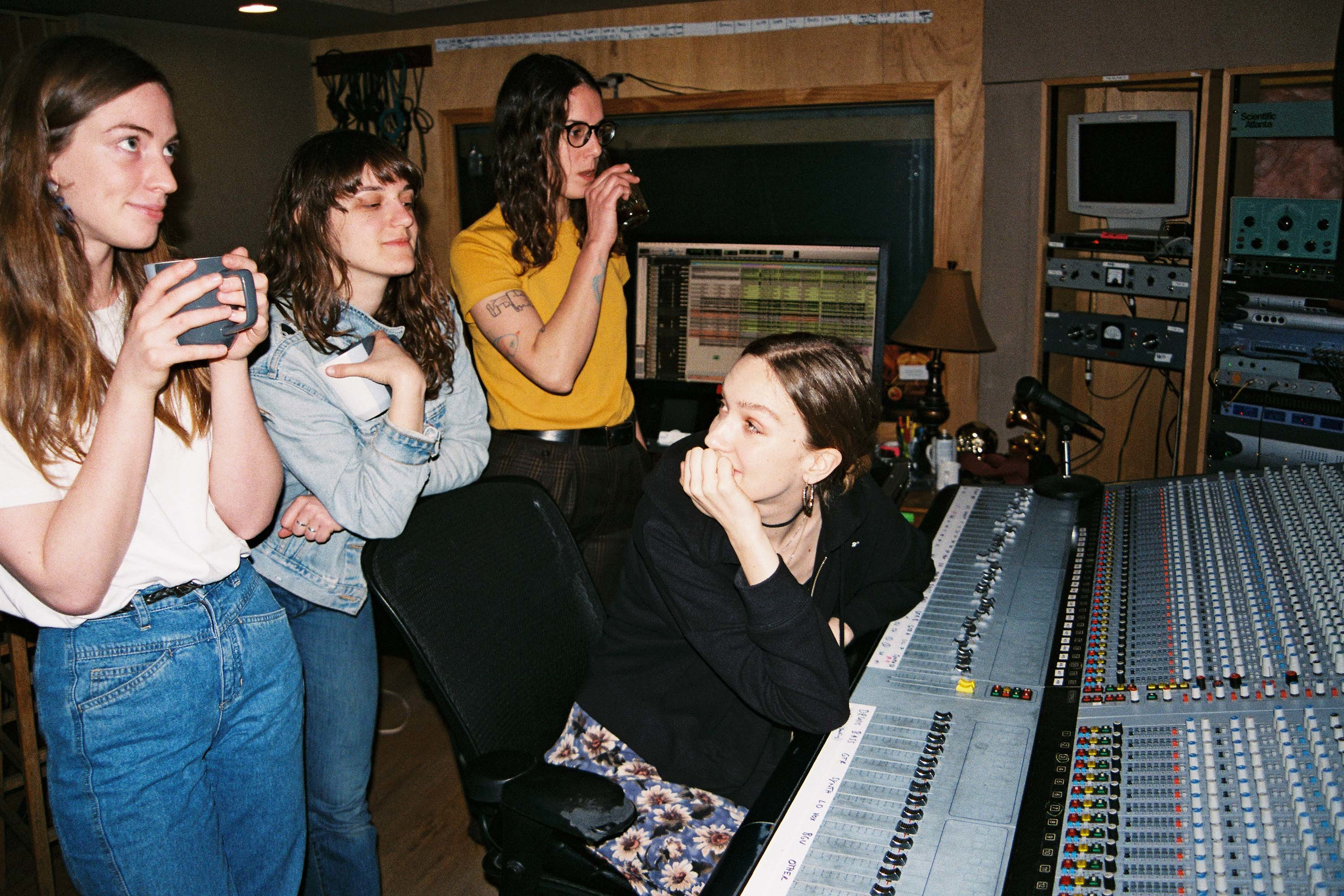 In the studio with The Big Moon