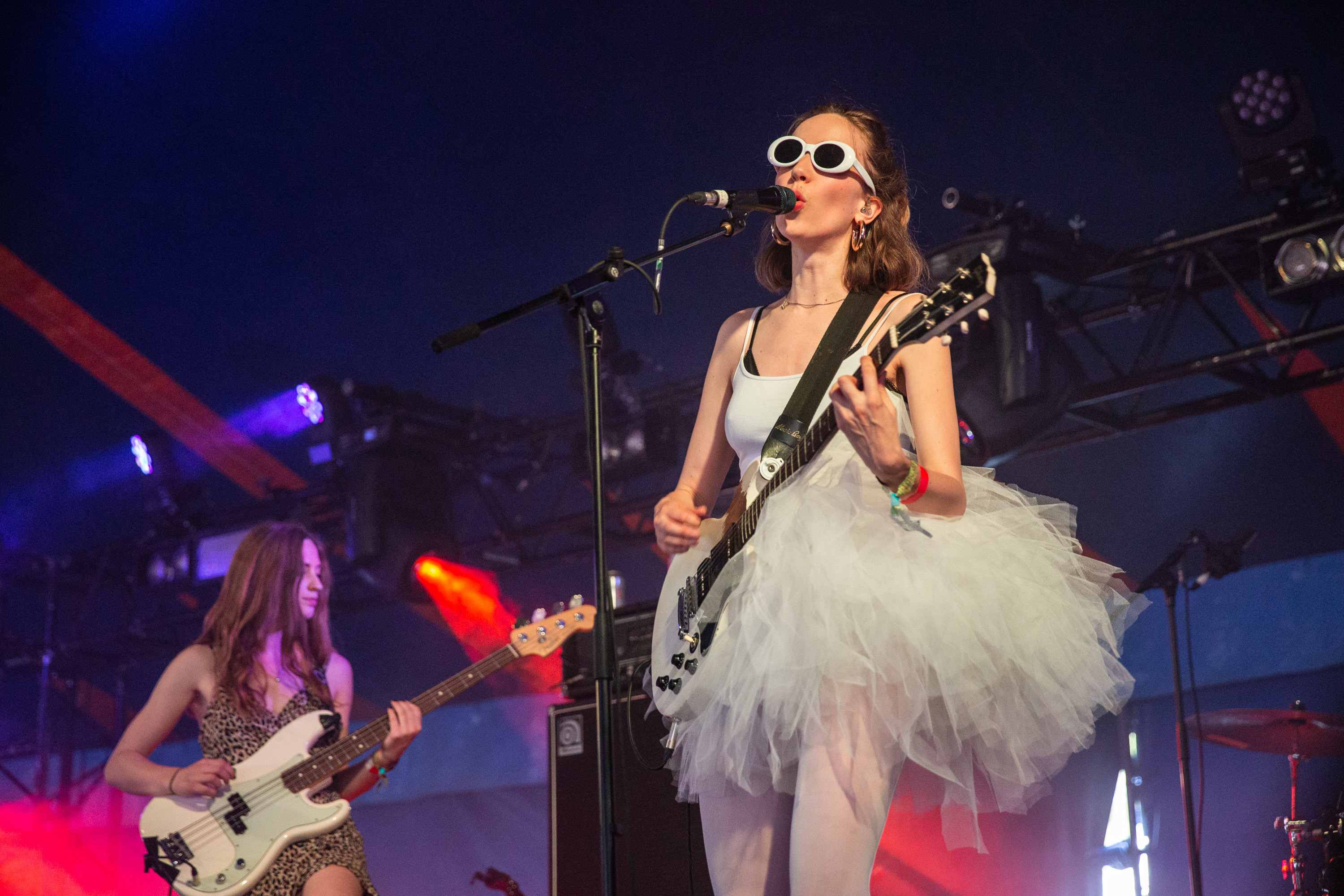 Surprises from The Big Moon and Pale Waves and hard-hitters from techno's finest christen the first day of Glastonbury 2019