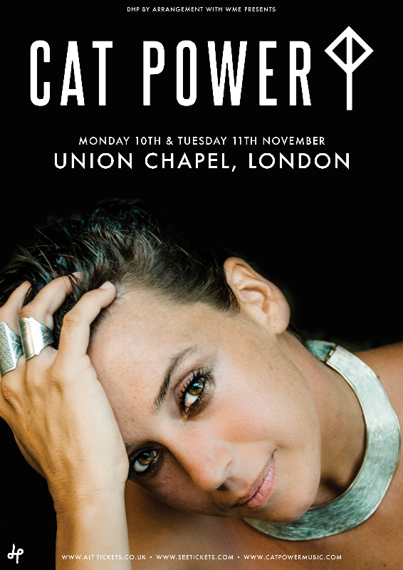 Cat Power announces pair of intimate London Union Chapel shows