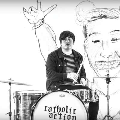 Catholic Action celebrate fan art in their 'Rita Ora' video