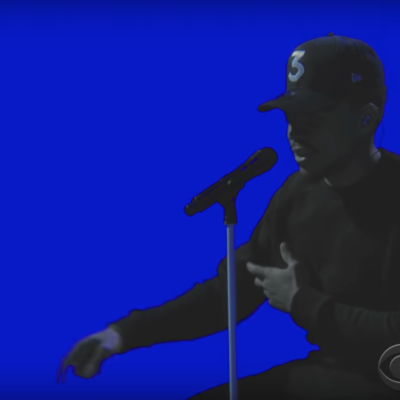 Watch Chance The Rapper debut a new song on Colbert