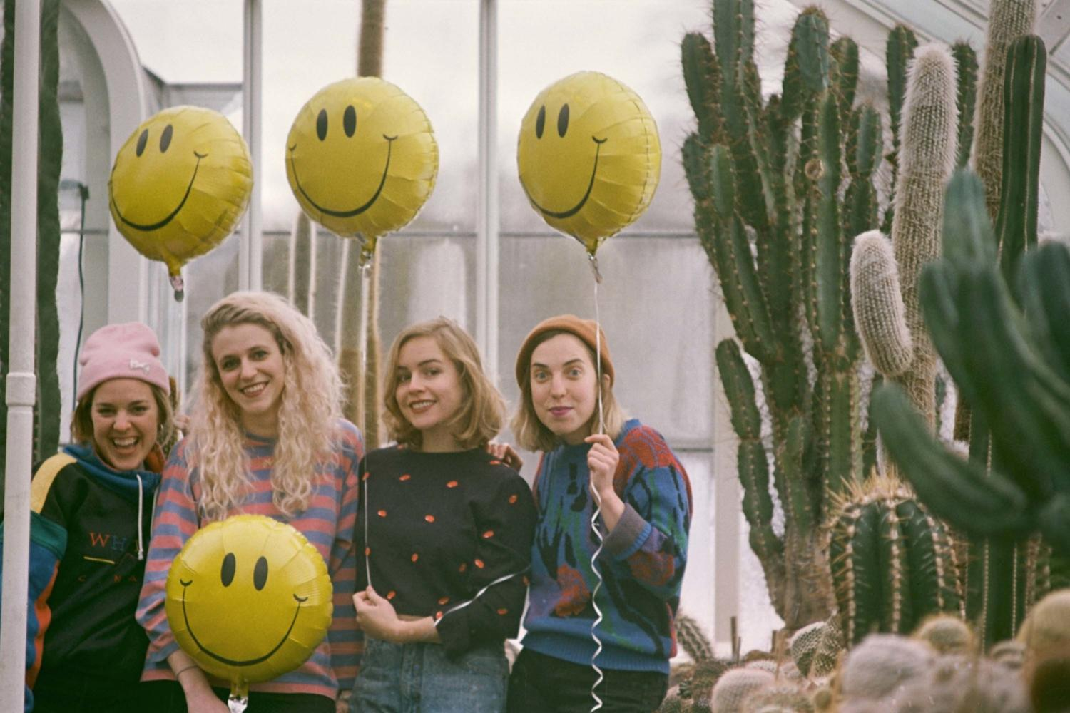 Chastity Belt head to the racetrack in the video for 'Used To Spend'