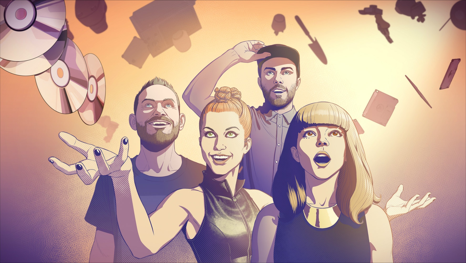 Hayley Williams joined Chvrches on stage at Bonnaroo