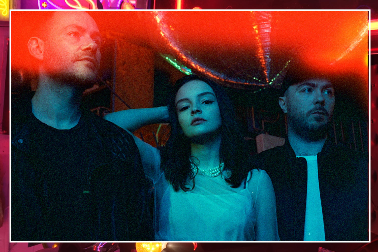 Chvrches team up with Marshmello for 'Here With Me'